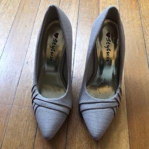 Vintage style lux shoes.